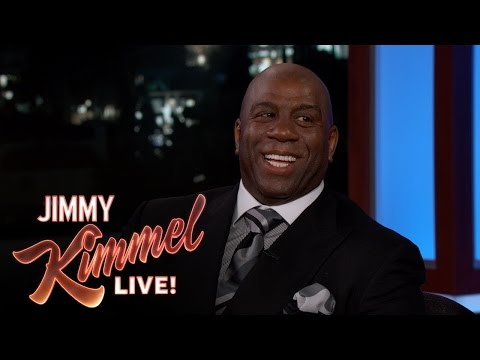 Magic Johnson on Vacationing with Samuel L. Jackson