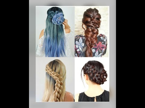 4 Beautiful Braid Hairstyles on Yourself  Argentealo