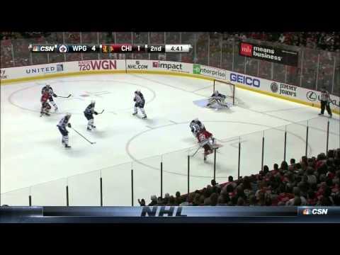 Winnipeg Jets vs. Chicago BlackHawks 23.12.2014
