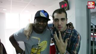 L'ARRIVEE DE BLACK JAGUAR AU MORNING DE MOMO SUR HIT RADIO