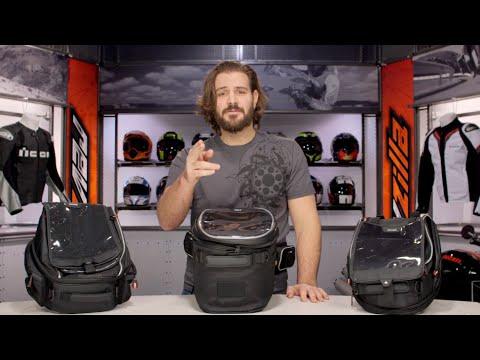 XS range by GIVI tanklock bags