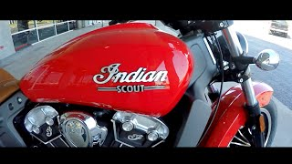 5. 2016 Indian Scout | First Time Riding | Fast Cruiser