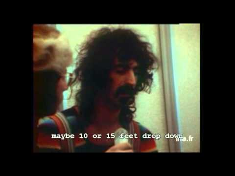 Frank Zappa - French TV Interview about Montreux Casino Fire 1971