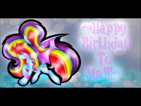 Happy Birthday to Me!!~ Mlp Speedpaint (видео)