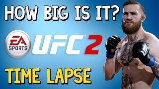 How Big Is UFC 2? I promise this isn't an April Fools joke....» Music: Håkan Eriksson - Silent Movie Stumble 6» How Big Is It? Full Playlisthttps://www.youtube.com/watch?v=Q5_COXFqgDU&index=1&list=PLc8BhPpsPhWbolaLohLkiFff6QjobVfHV&t=10s» Don't forget to like the video and subscribe to the channel for more ridiculous videos like the one you've just seen.» Support me by becoming an 8-Bit Bastard Patreon, you'll gain access to exclusive content! https://www.patreon.com/8BitBastardStay Connected!• Twitter: https://twitter.com/8Bit_Bastard• Patreon: https://www.patreon.com/8BitBastard• Facebook: https://www.facebook.com/8BitBastard/