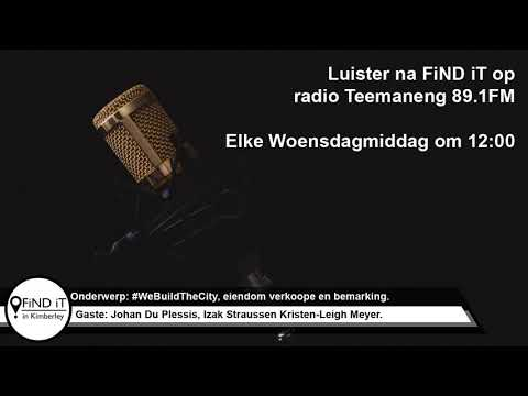 FiND iT op radio 89.1FM - 17/10/2018