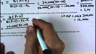 Financial Management: Supplemental Homework - Chapter 11