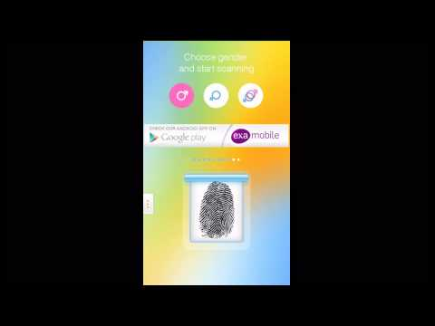 Video of Fingerprint Mood Scanner