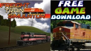 Freight Train Simulator Free Game Download PC HD