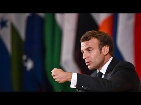Frankreich: Präsident Macron warnt vor Krieg und fordert Reform des Kapitalismus