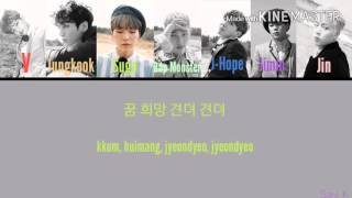 Bangtan Boys/BTS (방탄소년단) - EPILOGUE: Young Forever Color Coded Lyrics [Kpop]