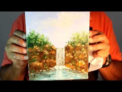 Paisagem com Cachoeira