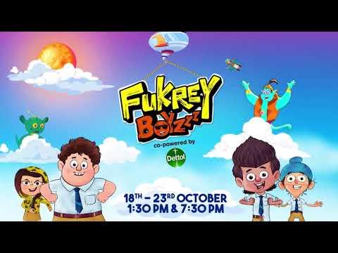 Fukrey Boyzzz – New Episodes | 18th – 23rd Oct, 1.30 PM & 7.30 PM | Discovery Kids