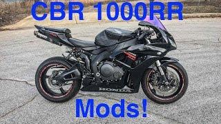 10. 2007 Honda CBR1000RR Walkaround