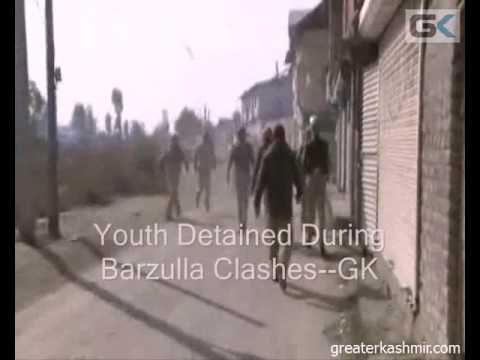 Youth Detained During Barzulla Clashes