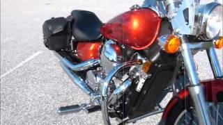 10. 2012 Honda Shadow Spirit 750 Stock #9-0098