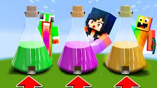 Minecraft : DO NOT CHOOSE THE WRONG POTION(Aphmau,Unspeakable,Drewsmc)