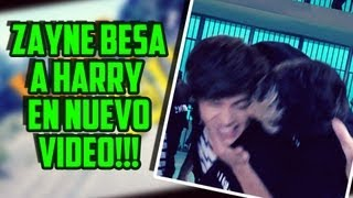 ¡Zayn Malik Besa a Harry Styles en Kiss You, Nuevo Video!