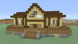 """Minecraft - Awesome Wooden Survival House """"Xbox Edition"""" ASH#27"""