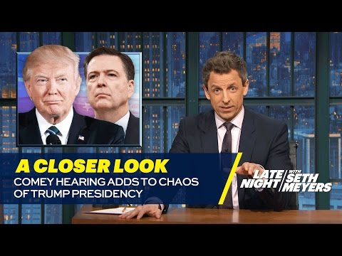 Download Comey Hearing Adds to Chaos of Trump Presidency: A Closer Look HD Mp4 3GP Video and MP3