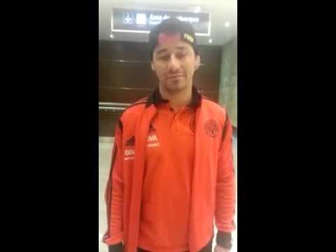 Rodrigo Mora, en el aniversario del Club