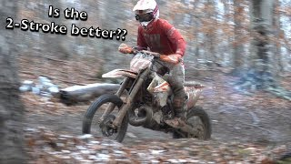 7. KTM 300XC VS 350XCF | WHICH BIKE YOU LIKE BETTER?