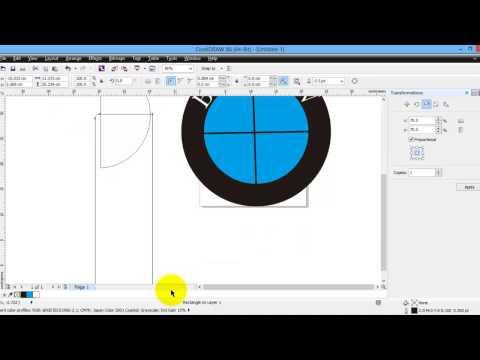 Как сделать рамку в coreldraw x6
