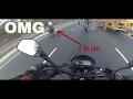 Honda cd 110 beats dominar 400|| thug life ||  surat to dudhni lake (part  1)