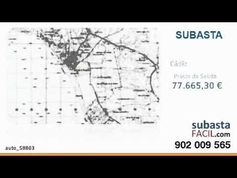 Subasta Judicial - Cádiz - Terreno