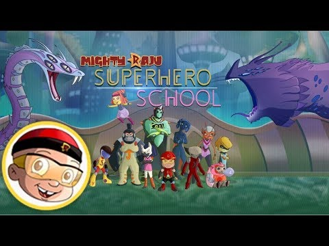 Mighty Raju - Super Hero School