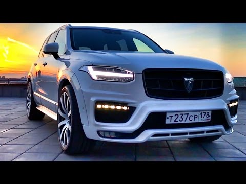 VOLVO XC90 - MOOSE DESIGN! Tuning - bodykit & wheels