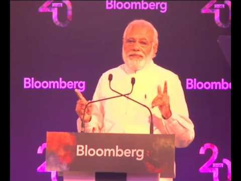 PM Modi at Bloomberg Economic Summit in New Delhi