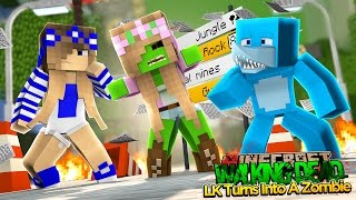 Minecraft - LITTLE KELLY TURNS INTO A ZOMBIE!