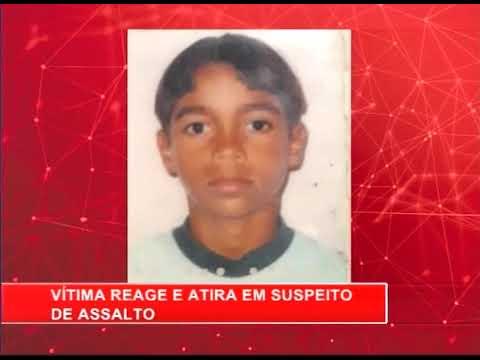 [RONDA GERAL] Vítima reage e atira em suspeito de assalto em Caruaru