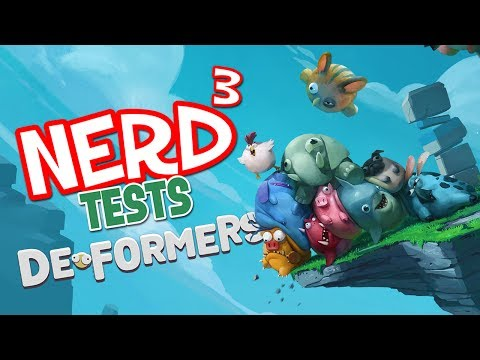 Nerd³ Tests... Deformers - Hello...? (видео)