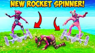 *NEW* Rocket Spinner Emote BEST PLAYS! - Fortnite Funny Fails and WTF Moments! #247 (Daily Moments)
