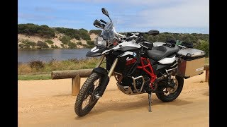 4. BMW F800GS Review | Two days with BMW's middleweight adventurer!