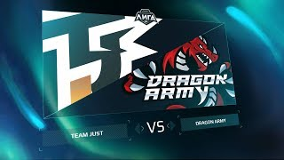 Just.Alpha vs Dragon Army, game 1