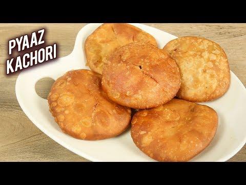 Pyaz Ki Kachori | Halwai Style Rajasthani Pyaz Ki Kachori | Onion Kachori Recipe By Varun