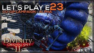 Welcome to Divinity Original Sin 2!In this series I will be teaming up with my good buddy, ThalricRekef in a Co-Op campaign - we will be focusing on the story and combat alike. Join us for some great experiences with funny moments and brilliant (cough) tactical decisions.This is the last episode in the Alpha playthrough, but do not despair! We will be doing some arena battles and a new campaign once the game releases on the 14th of September!I hope you will check out ThalricRekefs YouTube Channel here;https://www.youtube.com/channel/UC6QNH9NiHUfduuJ88vf8YRQ📣 Let's connect S.O.M.E 📣🎬 Subscribe here: http://www.youtube.com/GamekNightPlays?sub_confirmation=1🗣 Facebook: www.facebook.com/GamekNightPlays🗣 Twitter: https://twitter.com/GamekNightPlay🗣 Website: http://gameknightplaysyt.wixsite.com/home👾 LIVE on Twitch http://twitch.tv/GamekNightPlays every Wednesday from 8PM - 11PM Paris time📣 kNightly Buddyhood Community 📣🍻 Steam Group 'kNightly Buddyhood': http://steamcommunity.com/groups/kNightlyBuddyhood📡 Discord channel: https://discord.gg/MKDTshKJoin other kNightly Buddies and play games!💰 Support Game kNight 💰ALL revenue goes towards improving the channel!⍟ Monthly ⍟✔ Check out my Patreon page: https://www.patreon.com/Game_kNightANY 5$+ Patrons get featured on streams AND all future videos!⍟ Don't want to support me monthly? here is a video about more options, links in the description: https://youtu.be/LTaM5upqSmc© Credits ©⍟ All overlays and alerts are custom made by myself - I use in-game assets from the games I play and do not claim ownership! I do this to make every stream unique and fitting for the games I play.⍟ Intro made by Game kNight using a template by http://ravenprodesign.com/⍟ Drawing of Game kNight made by Musiriam (https://t.co/vNkkOxceRq)⍟ Music used from https://incompetech.com/