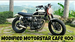 8. Modified Motostar 400 Into CafeRacer By Imprint Customs