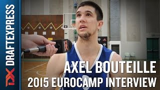 Axel Bouteille Interview at the 2015 adidas EuroCamp - DraftExpress