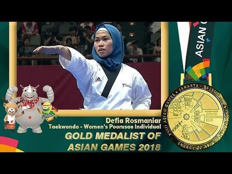 Asian Games 2018 : Taekwondoin Defia Presents First Gold For Indonesia