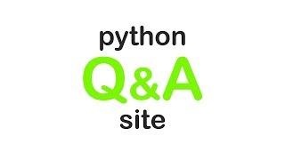 Make a Q&A site with Python