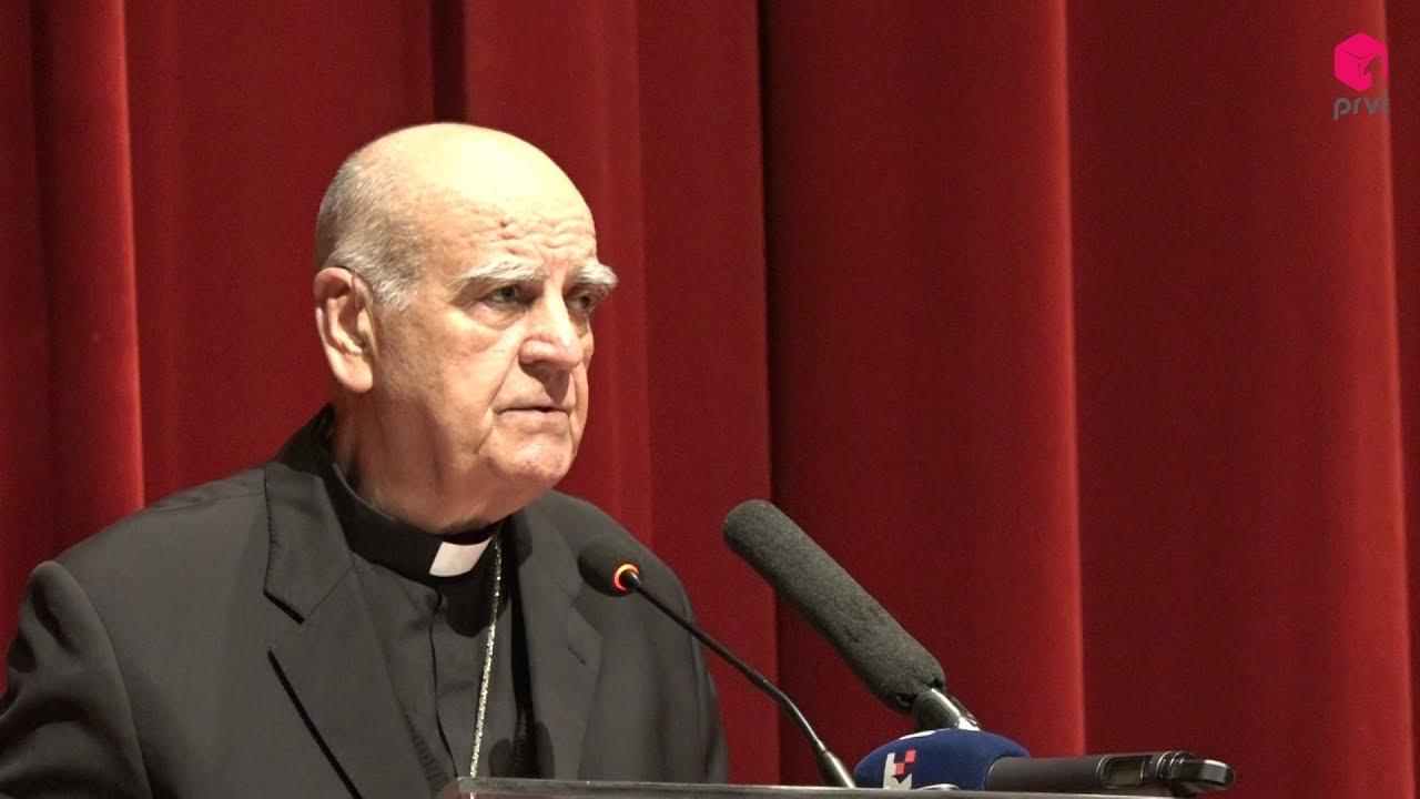 Mons. Ratko Perić, govor na predstavljanju knjige Nada koja ne postiđuje