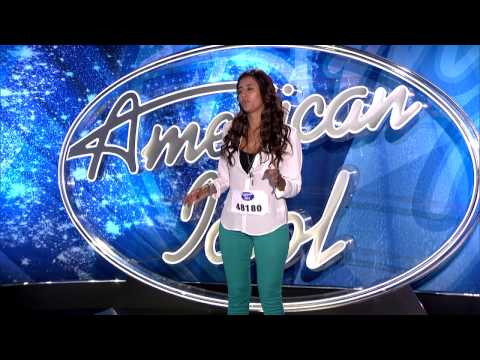 """American Idol Audition - Beyonce's """"Swing Low Sweet Chariot"""""""