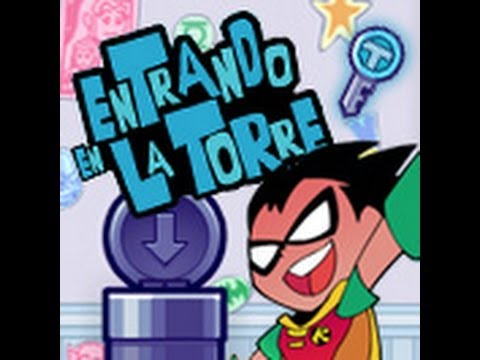 entrando en la torre - los jovenes titanes en accion / cartoon network