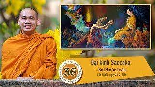 KINH TRUNG BỘ 36:  ĐẠI KINH SACCAKA - SƯ PHƯỚC TOÀN