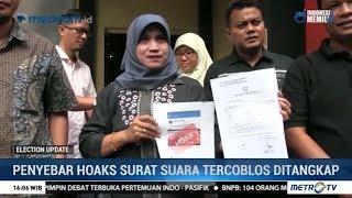 Video Penyebar Hoaks Surat Suara Tercoblos Diringkus di Jawa Barat MP3, 3GP, MP4, WEBM, AVI, FLV Juni 2019