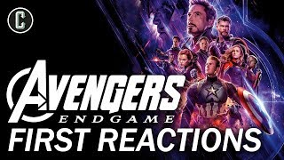Avengers: Endgame First Reactions Praise the Epic Conclusion by Collider